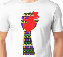 Squeezing a Heart Unisex T-Shirt
