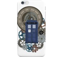 Traveling through the gears of Time  iPhone Case/Skin