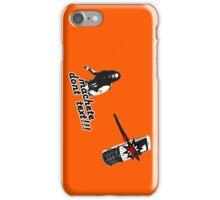 Machete don't text!!! iPhone Case/Skin