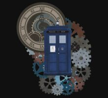 Traveling through the gears of Time  by Alondra