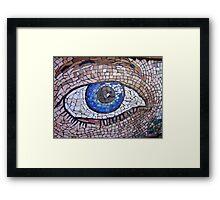 I've got my eye on you! Framed Print
