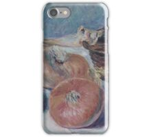 Still Life with Onions iPhone Case/Skin