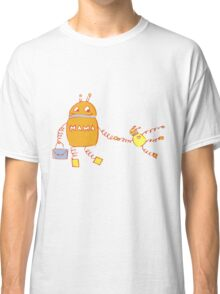 Robomama Robot Mother And Child Classic T-Shirt