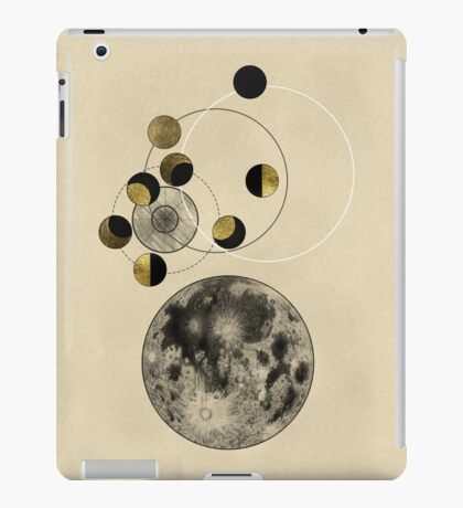 Phases of the Moon iPad Case/Skin
