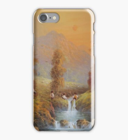 Set For A Fall. iPhone Case/Skin