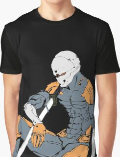 Gray Fox from MGS 1 Graphic T-Shirt