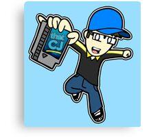 thatCJ Logo Canvas Print