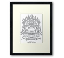witness me- mad max Framed Print