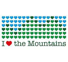 I love the mountains V.1.2 by marmota