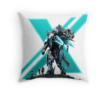 Xenoblade Chronicles X Logo Throw Pillow
