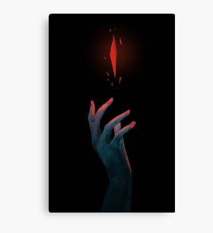 Shard of the abyss Canvas Print