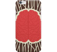 abstract brain design iPhone Case/Skin