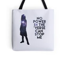 River Tam - No Power in the 'Verse Tote Bag