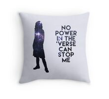 River Tam - No Power in the 'Verse Throw Pillow