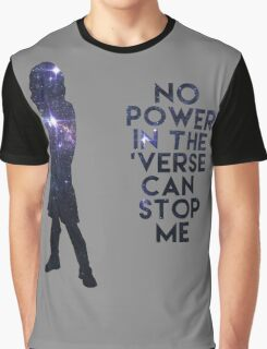 River Tam - No Power in the 'Verse Graphic T-Shirt