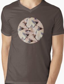 Sparrow Flight Mens V-Neck T-Shirt
