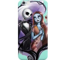 Romantic Jack Skellington and Sally iPhone Case/Skin