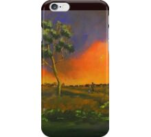 Western Sunset  iPhone Case/Skin