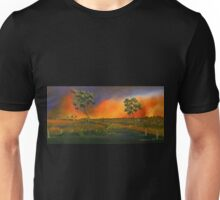 Western Sunset  Unisex T-Shirt