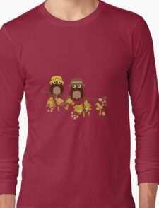 Cute owls (Summer)  Long Sleeve T-Shirt