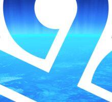 On cloud nine Sticker