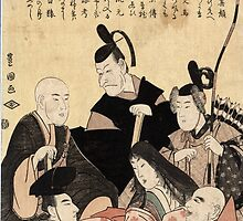 An updated version of the six poets - Toyokuni Utagawa - 1795 by CrankyOldDude