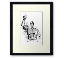 MMA FIGHTER Framed Print