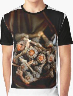 Cinnamon Flower Graphic T-Shirt