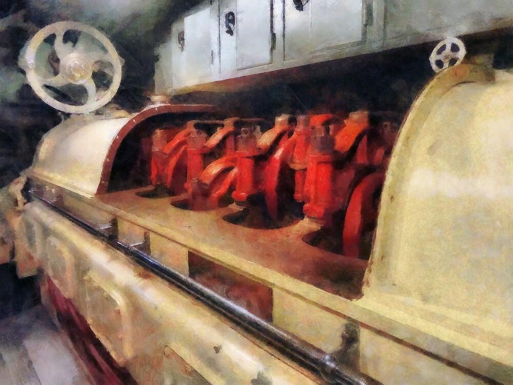 Steampunk - After Engine Room by Susan Savad