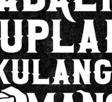 Ang Babaeng Suplada Kulang Sa Romansa  Sticker