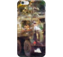Army Truck in Parade iPhone Case/Skin