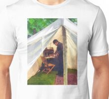 Civil War Officer's Tent Unisex T-Shirt