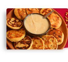 Ecuadorian Pancakes Canvas Print