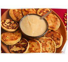 Ecuadorian Pancakes Poster