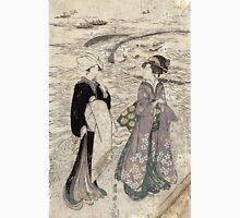 Fishing Net - Toyokuni Utagawa - 1799 - woodcut Unisex T-Shirt