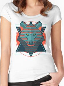 Wild Wolf Women's Fitted Scoop T-Shirt