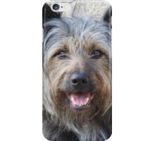 dog shows the world  iPhone Case/Skin