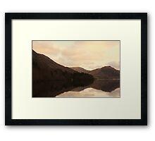 The boat house Framed Print
