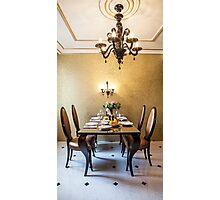 table setting  Photographic Print