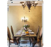table setting  iPad Case/Skin