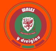 Euro 2016 Football - Team Wales Kids Tee