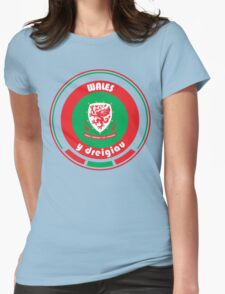 Euro 2016 Football - Team Wales Womens Fitted T-Shirt