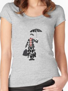 Mary Poppins Women's Fitted Scoop T-Shirt