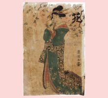 Flower - Toyokuni Utagawa - c1805 - woodcut Baby Tee