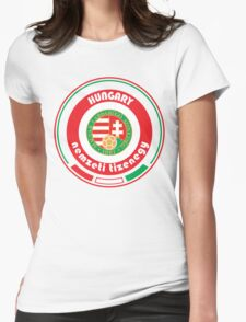 Euro 2016 - Team Hungary Womens Fitted T-Shirt