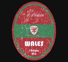 Euro 2016 Football - Wales One Piece - Long Sleeve