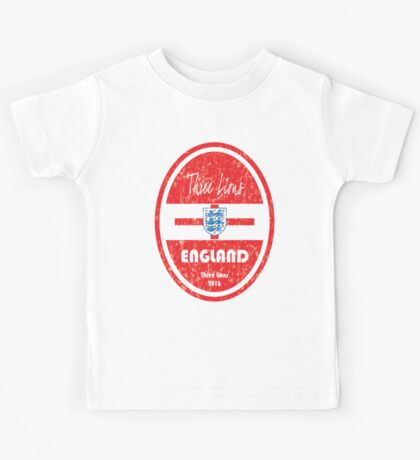 Euro 2016 Football - England Kids Tee