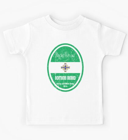 Euro 2016 Football - Northern Ireland Kids Tee
