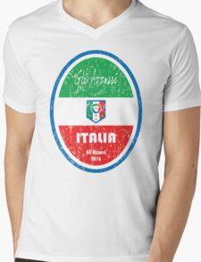 Euro 2016 Football - Italia Mens V-Neck T-Shirt