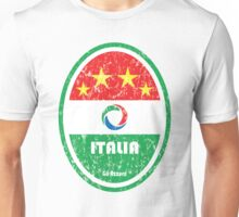 World Cup Football 2/8 - Italia (Distressed) Unisex T-Shirt